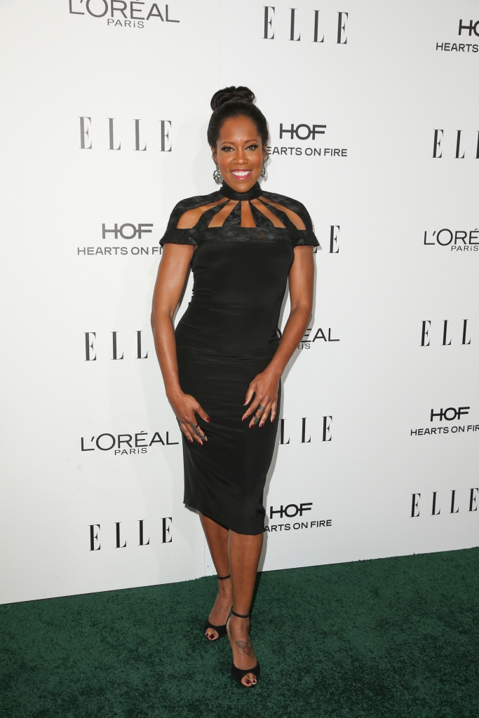 10/24/2016 - Regina King - 23rd Annual ELLE Women in Hollywood Awards - Arrivals - Four Seasons Hotel Los Angeles at Beverly Hills, 300 S Doheny Drive - Los Angeles, CA, USA - Keywords: Vertical, Annual Event, Person, People, Topics, Beverly Hills, California, Award, Fashion, Red Carpet Event, Arts Culture and Entertainment, Attending, Celebrities, Topix, Bestof, Celebrity Orientation: Portrait Face Count: 1 - False - Photo Credit: PRPhotos.com - Contact (1-866-551-7827) - Portrait Face Count: 1