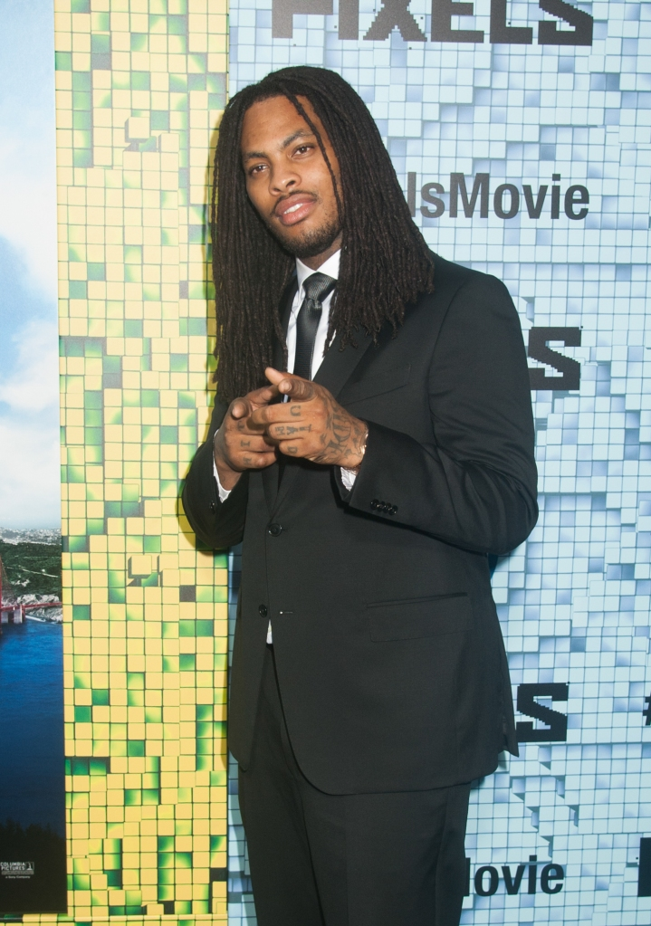 "07/18/2015 - Waka Flocka - ""Pixels"" New York City Premiere - Arrivals - Regal E-Walk - New York City, NY, USA - Keywords: Vertical, Pixelated, Premiere, Arts Culture and Entertainment, Attending, Film Premiere, Movie Premiere, World Premiere, Portrait, Red Carpet Event, Arrival, Celebrities, Celebrity, Topix, Bestof, Person, People Orientation: Portrait Face Count: 1 - False - Photo Credit: Janet Mayer / PRPhotos.com - Contact (1-866-551-7827) - Portrait Face Count: 1"