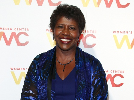 """FILE - In this Nov. 5, 2015 file photo, """"NewsHour"""" co-anchor Gwen Ifill attends The Women's Media Center 2015 Women's Media Awards in New York.  Ifill died on Monday, Nov. 14, 2016, of cancer, PBS said. She was 61.  (Photo by Andy Kropa/Invision/AP, File)"""