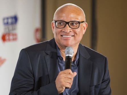 Larry Wilmore seen at Politicon 2016 at The Pasadena Convention Center on Saturday, June 25, 2016, in Pasadena, CA. (Photo by Colin Young-Wolff/Invision/AP)
