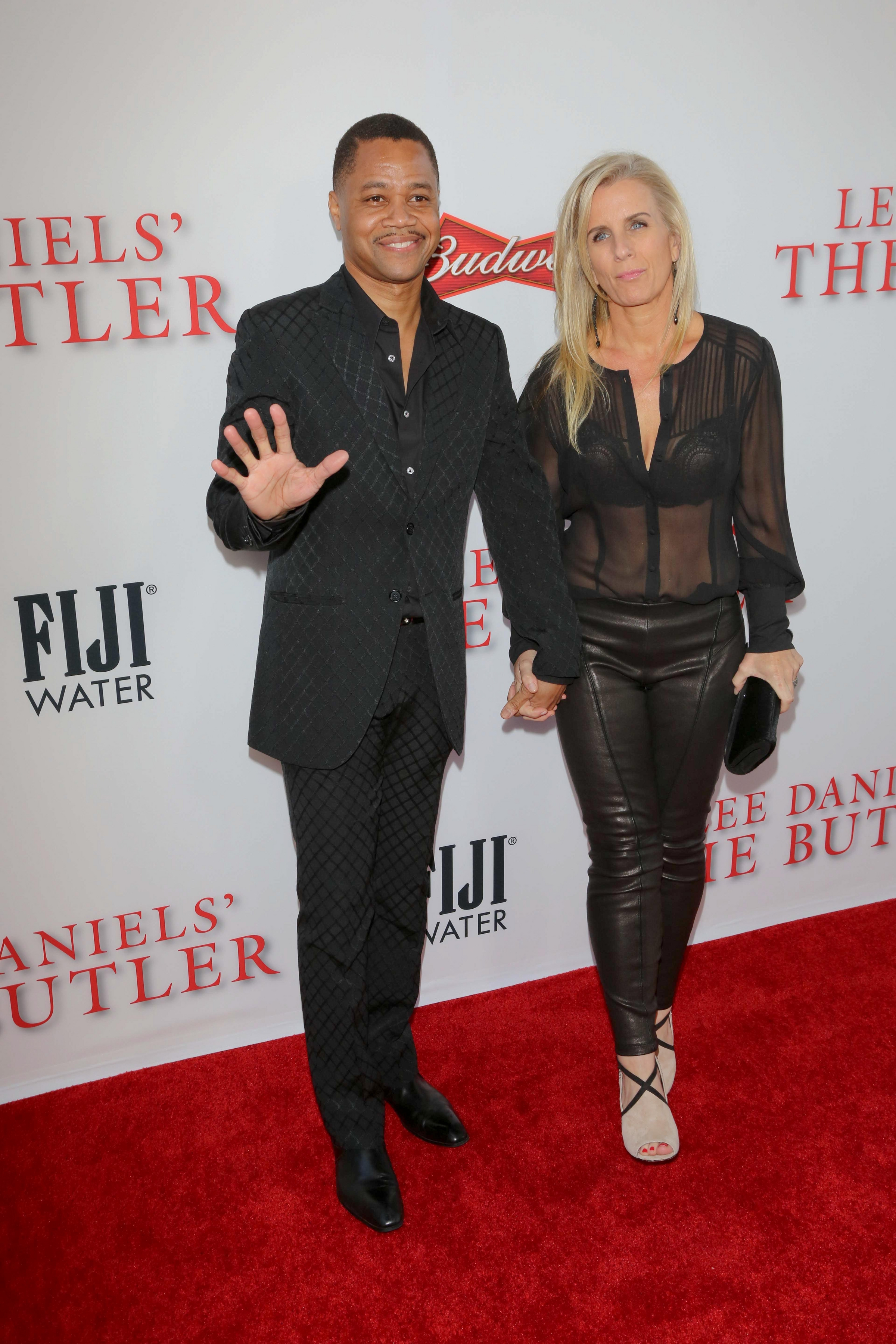 """08/12/2013 - Cuba Gooding Jr. and wife Sara Kapfer - """"The Butler"""" Los Angeles Premiere - Arrivals - Regal Cinemas L.A. Live - Los Angeles, CA, USA - Keywords: LEE DANIELS' """"THE BUTLER"""" Los Angeles Premiere red carpet Arrivals, Hosted by TWC, Budweiser, FIJI Water, Purity Vodka, Stack Wines Orientation: Portrait Face Count: 1 - False - Photo Credit: Andrew Evans / PR Photos - Contact (1-866-551-7827) - Portrait Face Count: 1"""