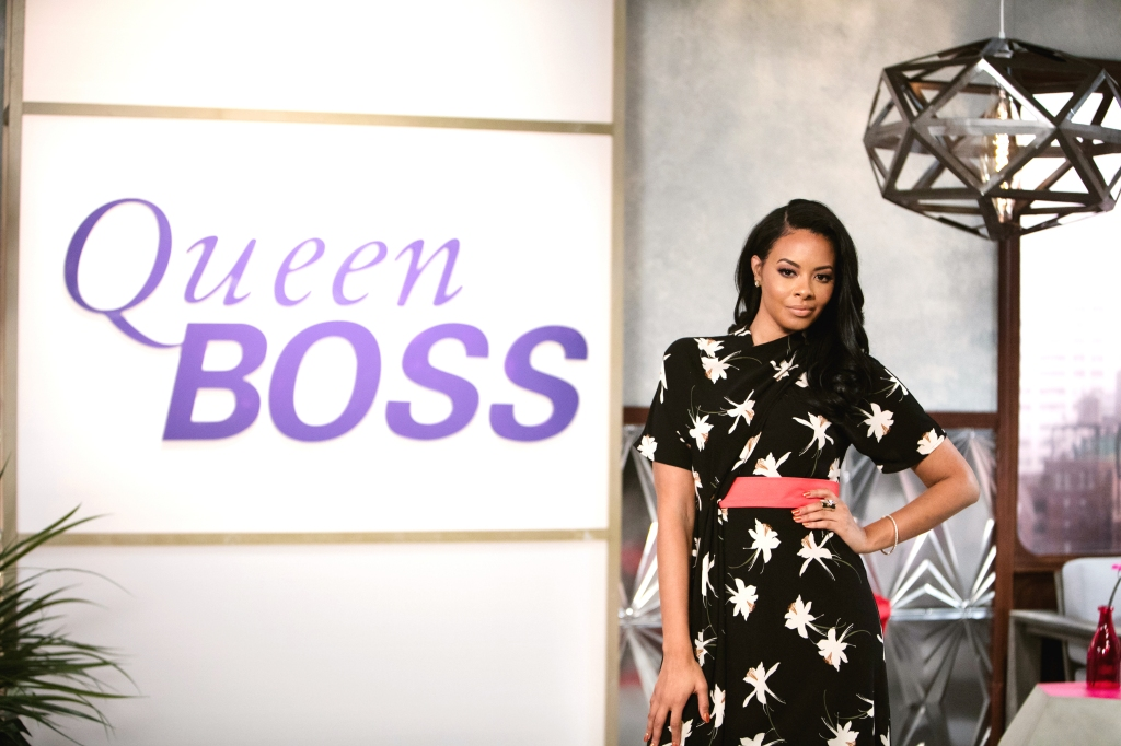 On the set of BET's Queen Boss, New York, NY, October 2016 - Vanessa Simmons. (Photo: Rebecca Smeyne/BET)