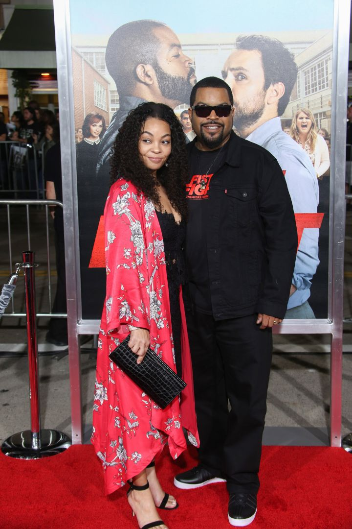 Ice Cube & Kimberly Woodruff