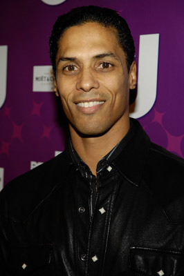 """Actor Taimak Guarriello attends the premiere of BETs """"Real Life Divas"""" at Merkato 55 on October 23, 2008 in New York City Premiere of BETs """"Real Life Divas"""" Merkato 55 New York, NY United States October 23, 2008 Photo by Gary Gershoff/WireImage.com To license this image (56026243), contact WireImage.com"""