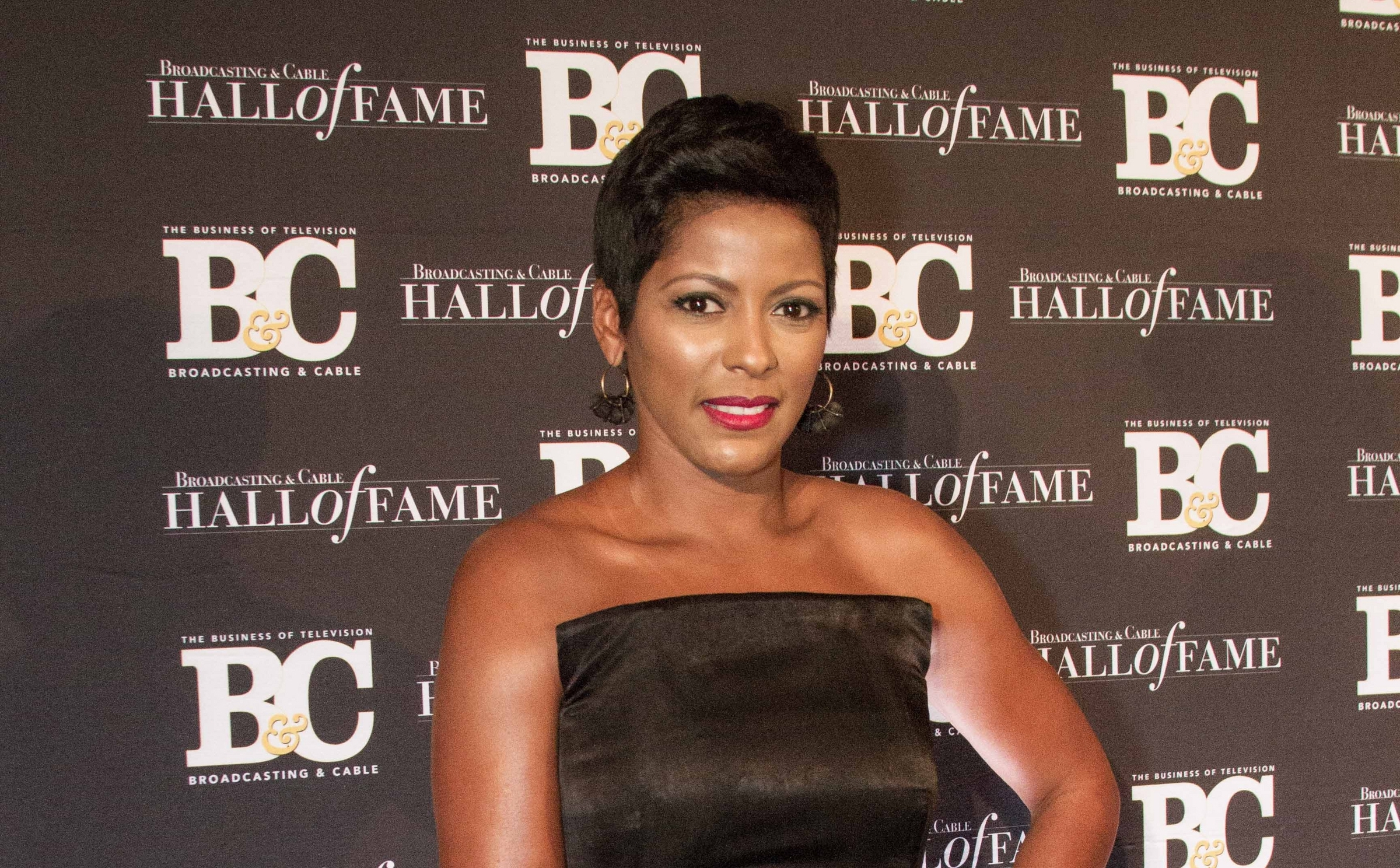10/20/2015 - Tamron Hall - Broadcasting and Cable Hall of Fame 25th Anniversary Gala - Arrivals - Waldorf Astoria New York Hotel, 301 Park Avenue - New York City, NY, USA - Keywords: Vertical, Radio, Award, TV Show, Television Show, Photography, Portrait, Arts Culture and Entertainment, Arrival, Attending, Celebrities, Celebrity, Person, People Orientation: Portrait Face Count: 1 - False - Photo Credit: Lisa Holte / PRPhotos.com - Contact (1-866-551-7827) - Portrait Face Count: 1