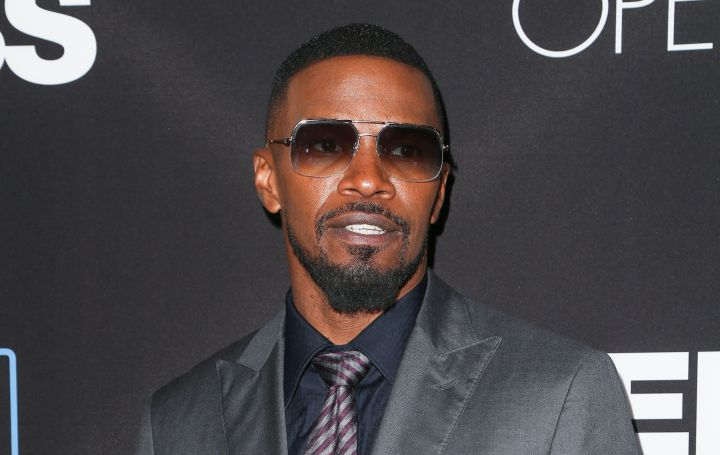 Oscar and Grammy winner Jamie Foxx sings, acts and hosts radio shows.