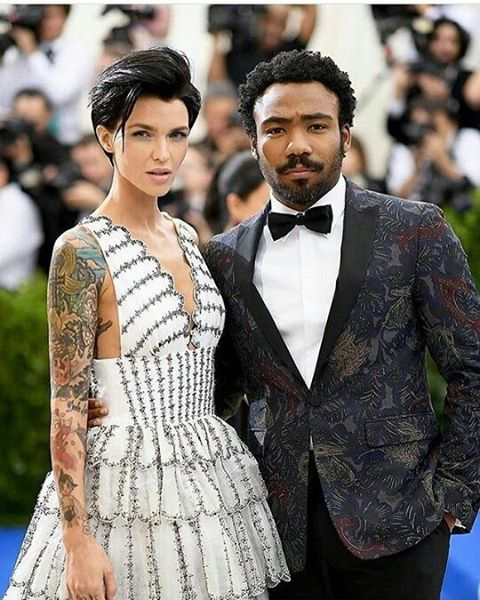 Ruby Rose and Donald Glover