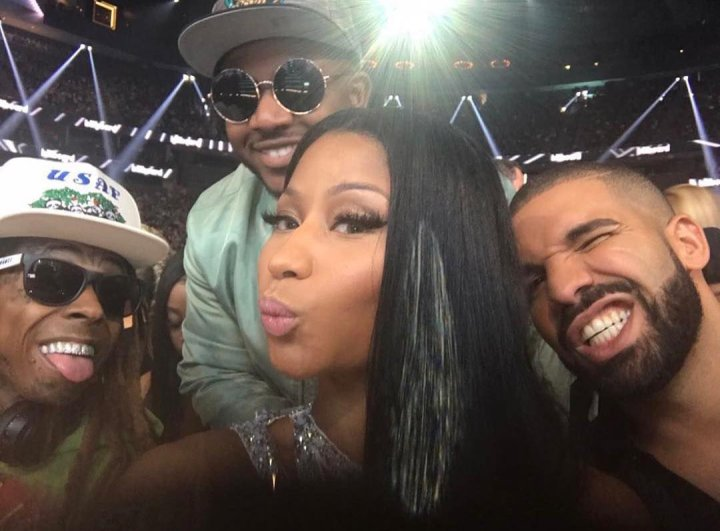 Lil Wayne, Nicki Minaj and Drake