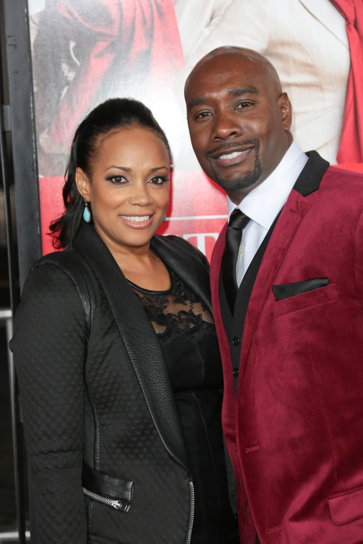 Morris Chestnut and Pam-Byse Morris