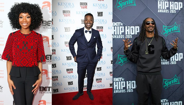 Brandy, Ray J & Snoop Dogg