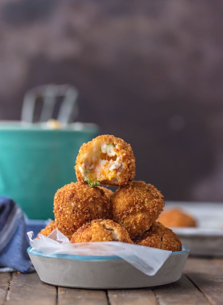 Deep Fried Loaded Mashed Potato Balls- The Cookie Rookie