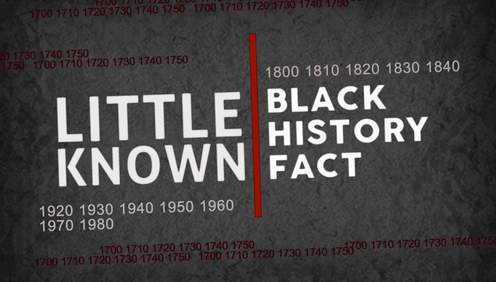 Little Known Black History Facts - cover