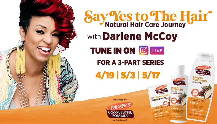 Protected: Palmer's Presents: Say Yes to The Hair, a Natural Hair Journey with Darlene McCoy
