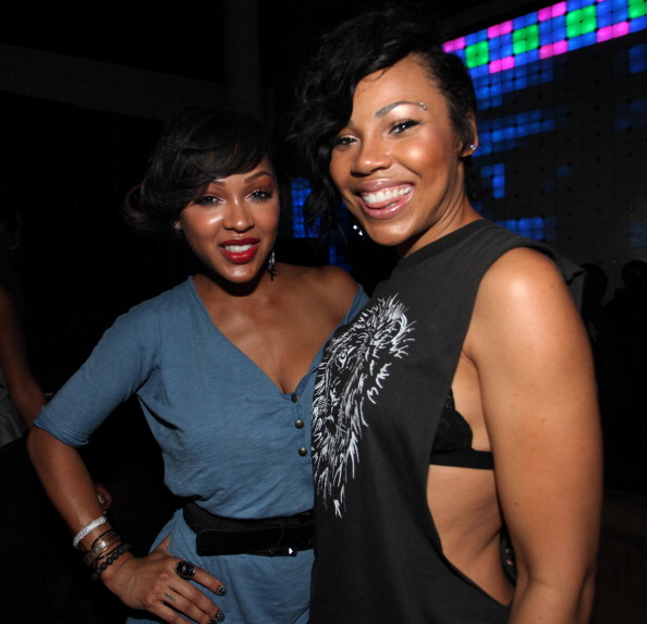 Megan Good-Franklin and Lamiya Good