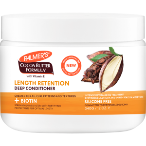 Cocoa Butter + Biotin Length Retention System Deep Conditioner