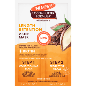 Cocoa Butter + Biotin Length Retention System Hair Mask