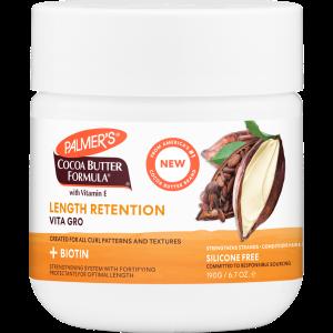 Cocoa Butter + Biotin Length Retention System Vita Grow Treatment