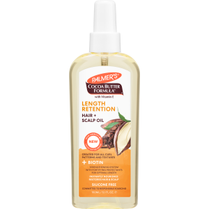 Cocoa Butter + Biotin Length Retention System Hair and Scalp Oil