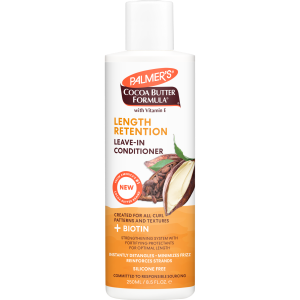 Cocoa Butter + Biotin Length Retention System Leave-in Conditioner