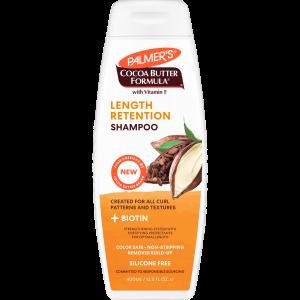 Cocoa Butter + Biotin Length Retention System Shampoo