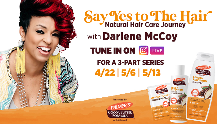 Palmer's Natural Hair Care Journey Series