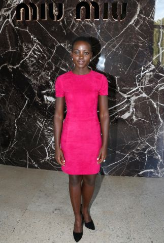 Miu Miu: Front Row - Paris Fashion Week Womenswear Spring/Summer 2014