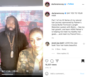 Darlene McCoy_Say Yes to the Hair_Palmers_IG Live_Part 1