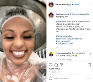 Darlene McCoy_Say Yes to the Hair_Palmers_IG Live_Part 2
