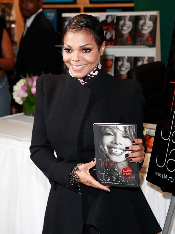 'True You: A Journey to Finding and Loving Yourself' (2011) - Janet Jackson (with David Ritz)