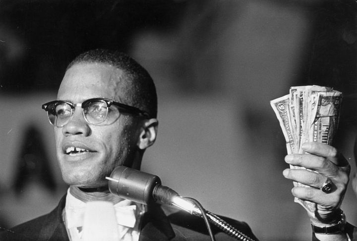 Malcolm X (May 19, 1925 – February 21, 1965)