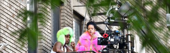 Rihanna & A$AP Rocky Spark New Music Rumors After Being Spotted Shooting A Video Together