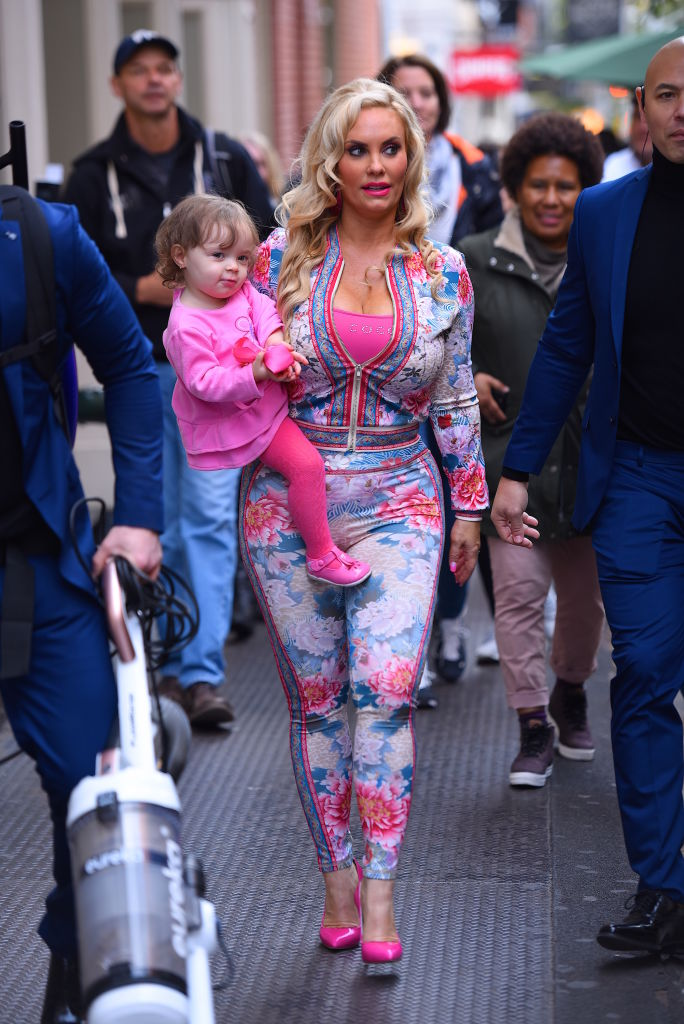 """Coco Austin Defends Breastfeeding 5-Year-Old Daughter: """"Chanel Still Likes My Boobs"""""""