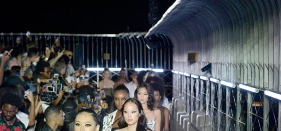 Black Designer LaQuan Smith Throws a Fashion Party At Empire State Building For NYFW
