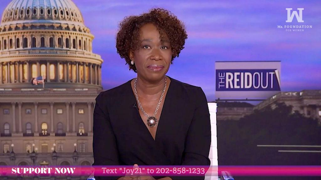 Joy Reid Calls Media's Coverage of Gabby Petito Case 'Missing White Woman Syndrome'